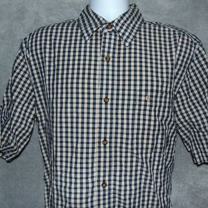 Carhartt relaxed fit button front shirt L